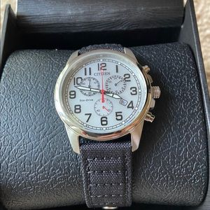 Citizen Mens Military  Chronograph Watch BNWT